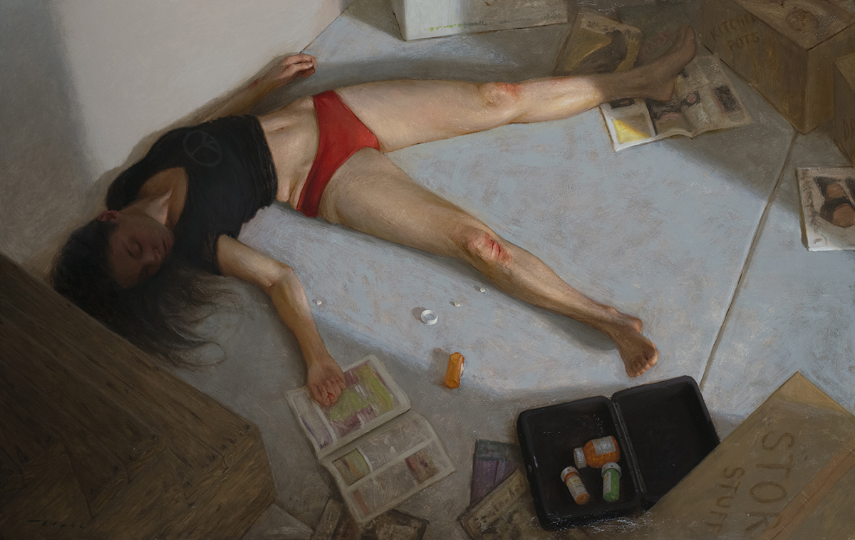 Contemporary figurative oil paintings - RealismToday.com