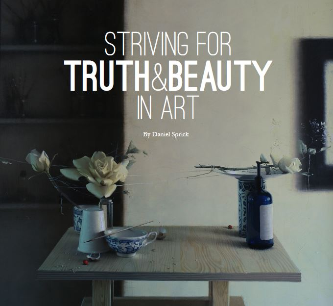 Striving for Truth and Beauty in Art by Daniel Sprick