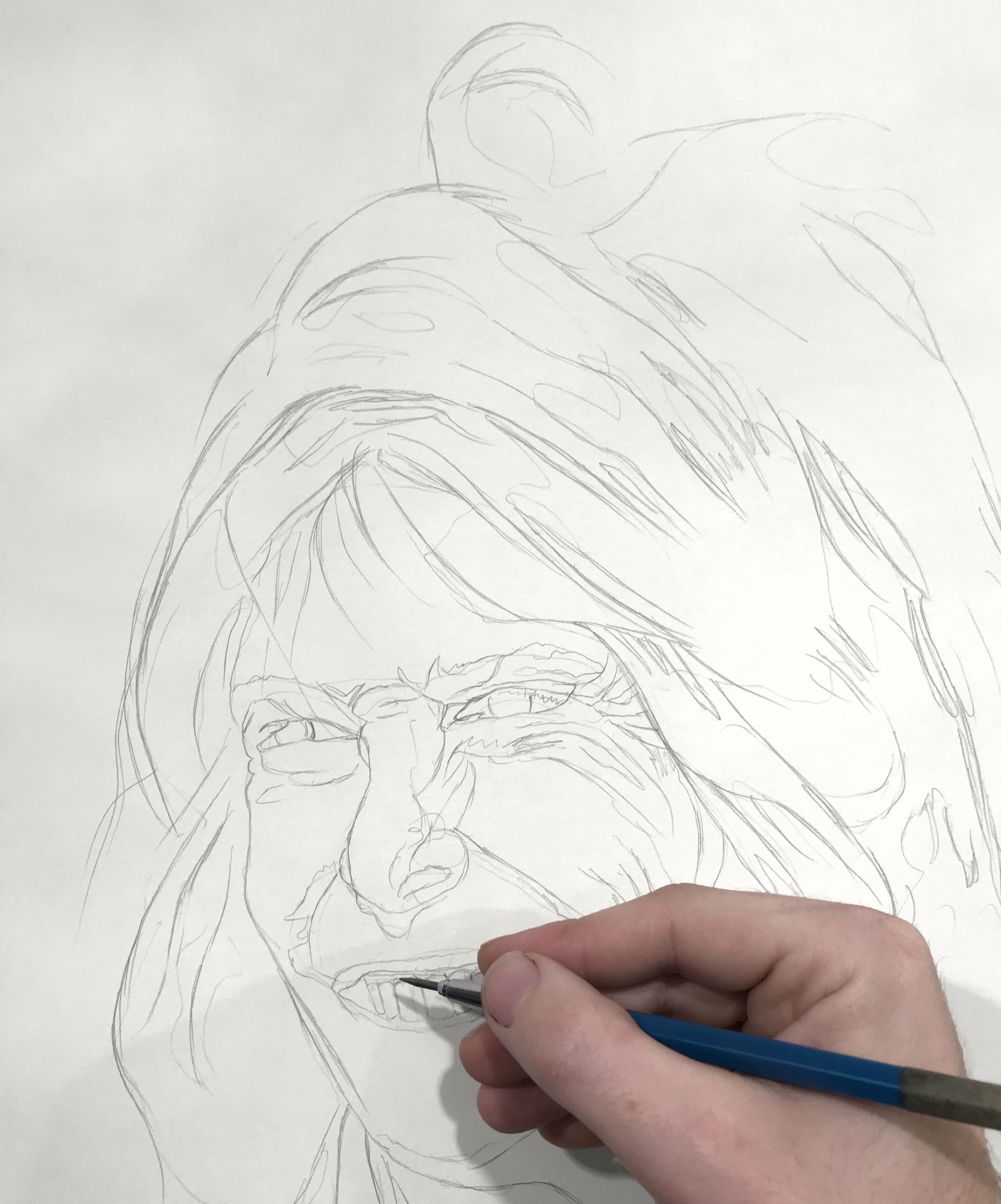 Drawing Portraits - Block-In