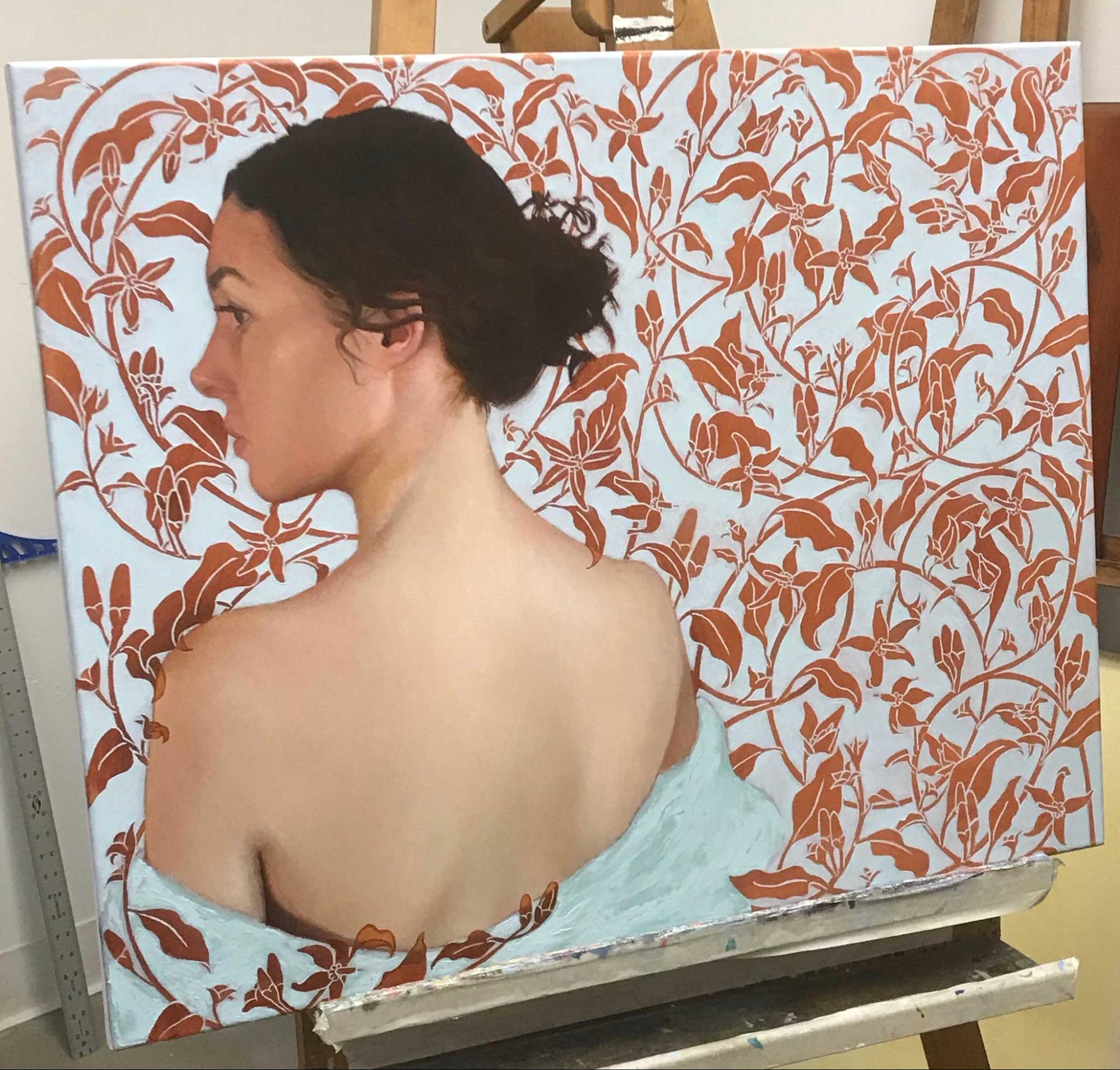 Oil painting step-by-step - Aixa Oliveras - RealismToday.com