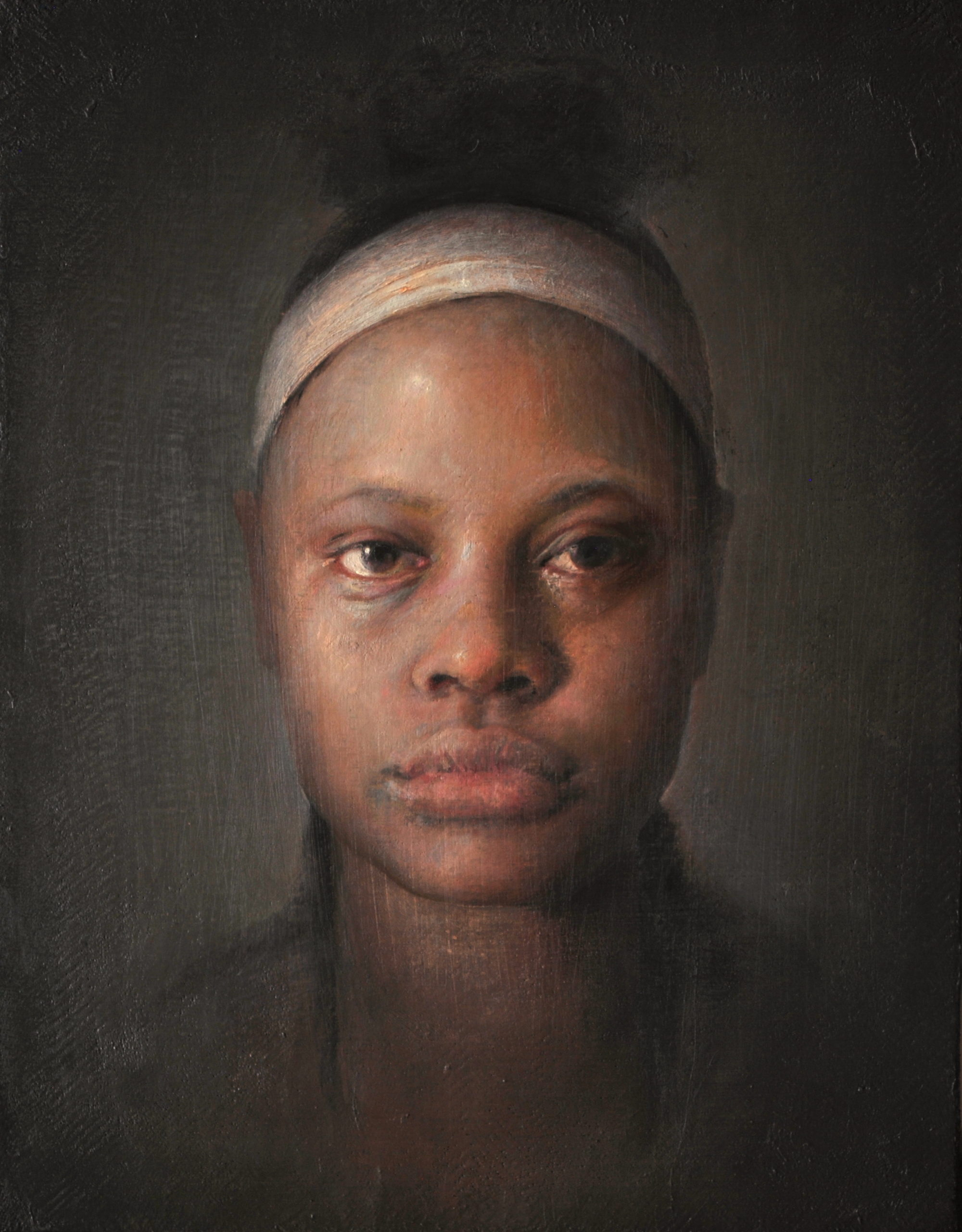 Contemporary realism paintings - portraits