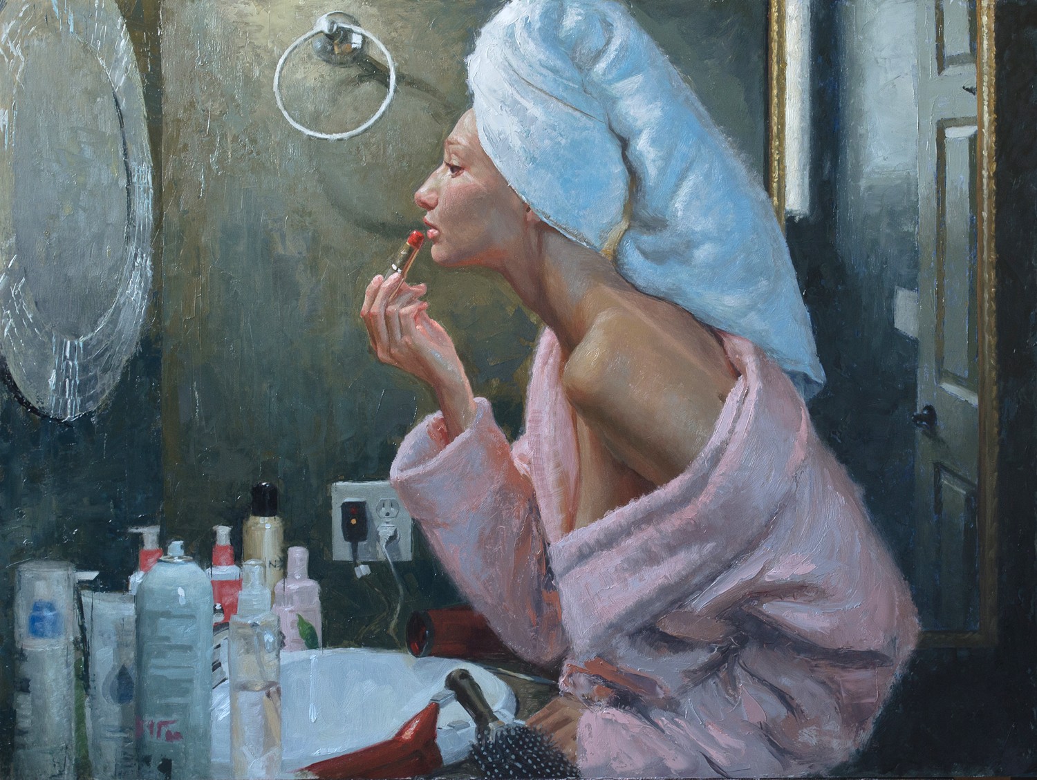 """Casey Childs, """"Natural Beauty,"""" 24 x 32 inches, Oil on panel"""