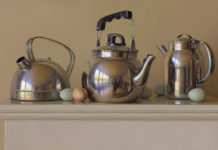 """""""Teapots"""" by Jeffrey T. Larson, who is on the faculty of the 2nd Annual Realism Live virtual art conference, November 2021"""