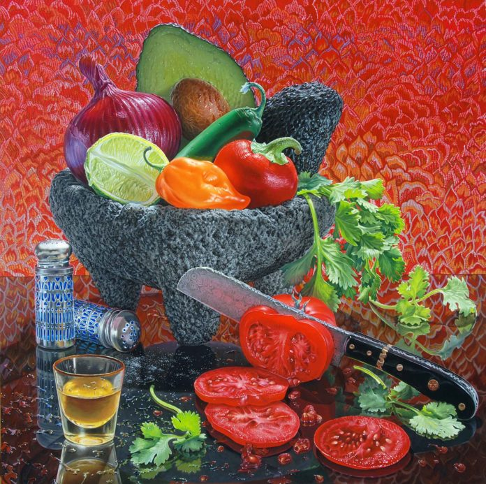 How to paint a still life commission